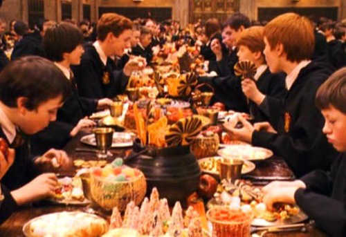 1.-Hogwarts-Feast-downscaled