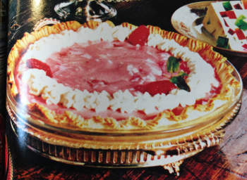 photo of pie from book